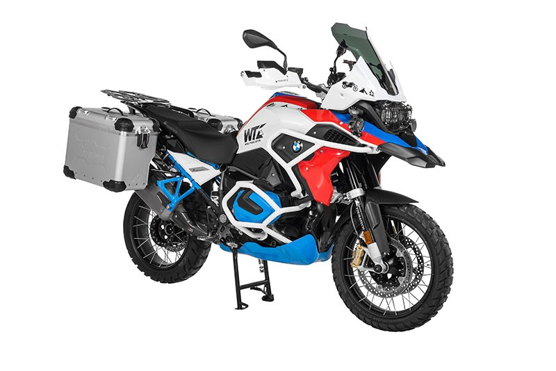 ZEGA Evo X R1200GS GS-A、 1250GS GS-A マフラーカットアウトパニアセット